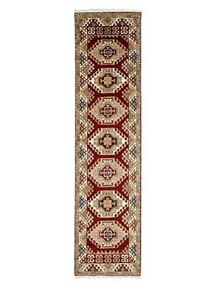 Darya Rugs Kazak Oriental Rug, Red, 2' 9