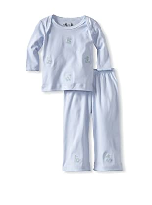 Margery Ellen Baby Pima Cotton Tee Set with Embroidery (Dragons)
