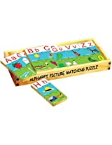 Alphabet Picture Matching Puzzle Strips