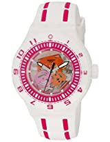 Swatch Unisex SUUW101 Feel the Wave Analog Display Quartz White Watch