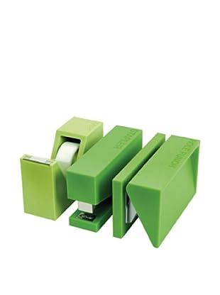 Lexon Buro Craft Set, Green
