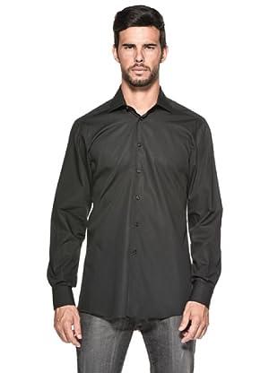 Camicissima Camisa Extra Slim Fit (Negro)