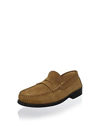 Tod's Men's Suede Loafer (Marrone)