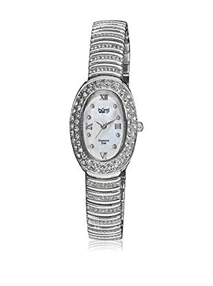 Bürgi Quarzuhr Woman Diamond silberfarben 23 mm