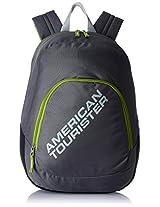 American Tourister Jasper Black Casual Backpack (JASPER 01_8901836116557)