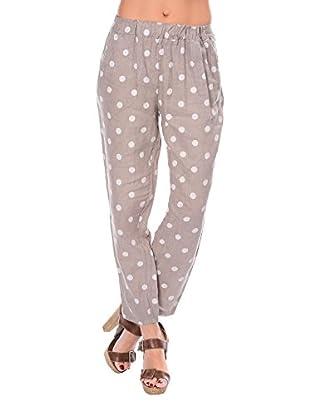 100% lino Pantalone Lauren