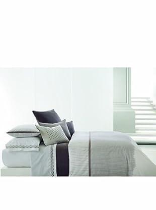 Vera Wang Ribbon Stripe Duvet Cover