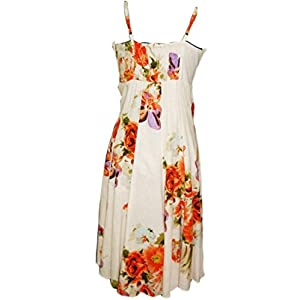 Dalia White Cotton Dress