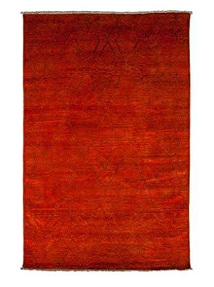Darya Rugs Moroccan Oriental Rug, Red, 5' 10