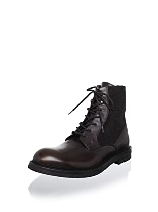 Antonio Maurizi Men's Quintano Lace-Up Boot (T.moro)