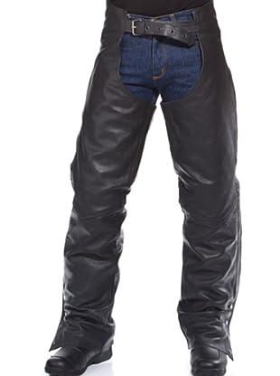 Kenrod Pantalón Sajón Hebillas (negro)