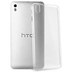 Cubix Ultra Thin Hard Case For HTC Desire 816 (Transparent)