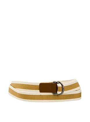 Cinturón Nancy (Camel / Blanco)