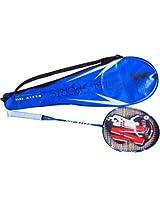 Elan Elite 05 G4 Strung Badminton Racquet - Blue/White