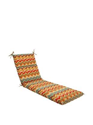 Pillow Perfect Outdoor Tamarama Chaise Lounge Cushion, Multicolor