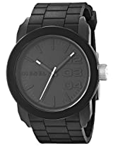 Diesel Designer Analog Black Dial Men's Watch - DZ1437