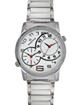 Maxima Attivo Analog White Dial Men's Watch - 22722CMGI