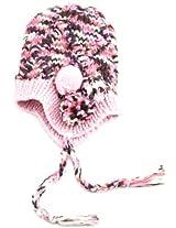 San Diego Hat Little Girls'  Knit Trapper Hat