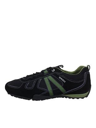 Geox Zapatillas (Negro/Verde)