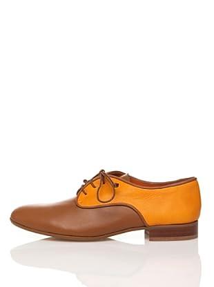 Flavio Menorca Zapatos Elen Lisos (Camel / Naranja)
