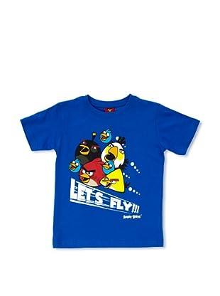 Licencias Camiseta Angry Birds (Azul)