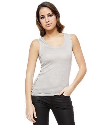 I-Code Camiseta Ribetes (gris)