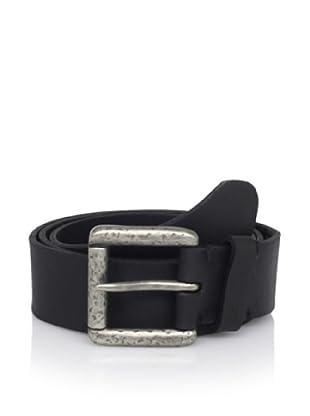John Varvatos Star USA Men's Roller Buckle Belt (Black)
