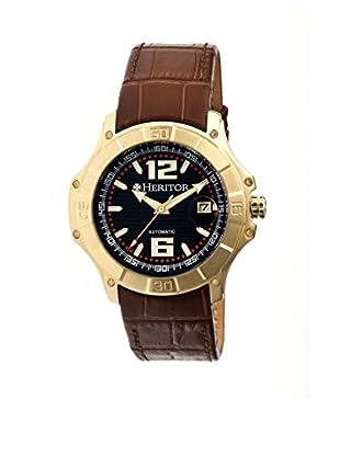 Heritor Automatic Uhr Norton Herhr3005 braun 48  mm