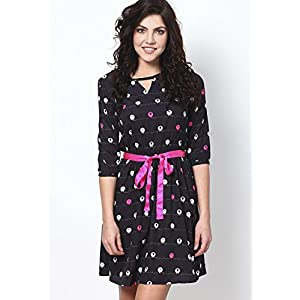 Multi Coloured Sheep Print Dress