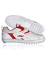 Nivia Hook Cricket Shoes-White