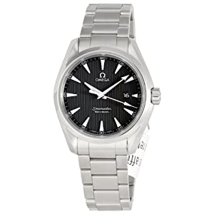 Omega Men's 231.10.39.61.06.001 Seamaster Aqua Terra Quartz Grey Dial Watch