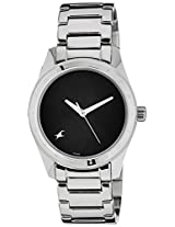 Fastrack His & Hers Upgrades Analog Black Dial Unisex Watch - 6057SM03