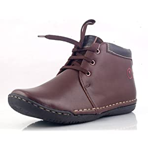 Banish Leather Mens Shoes Brown - CK-35006