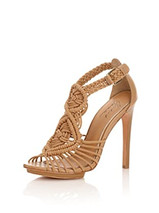 Mark + James Women's Paula Ankle-Strap Sandal (Tan)
