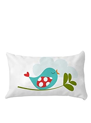 Little W Cojín Little Birds (Multicolor)