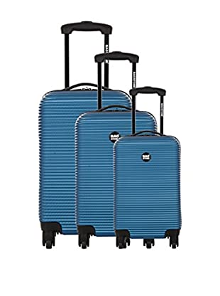 Bag Stone Set de 3 trolleys rígidos Dream Azul