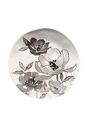 Floral Melamine Salad Plate, Multi