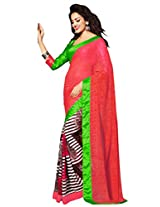 Riti Riwaz Georgette casual saree with unstitched blouse RSG482B