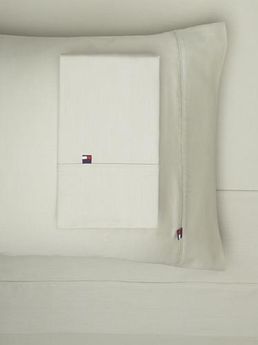 Tommy Hilfiger TH T300 Solid Sheet Set (Green)