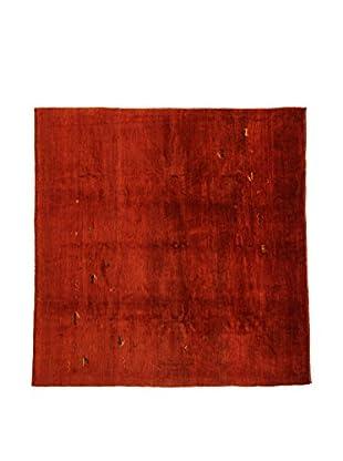 Design Community By Loomier Teppich Gabeh Bushir rot 204 x 197 cm