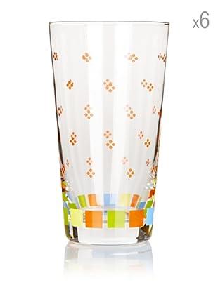 Villeroy & Boch Glas Twist Alea Colour groß 6 Stk. 14.3 cm