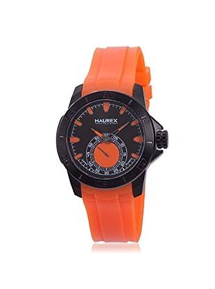 Haurex Men's 3N503UOO Acros Orange/Black Rubber Watch