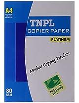 TNPL  Platinum Xerox Paper - A4, 80 GSM, 500 Sheets, 1 Ream