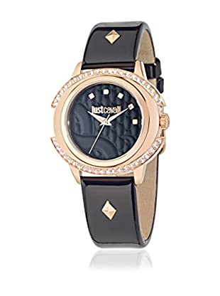 Just Cavalli Quarzuhr Woman Just Decor schwarz/roségold 41x39 mm