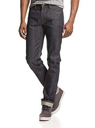 Denim & Leathers by Andrew Marc Men's Kaihara Raw Jean (Indigo)