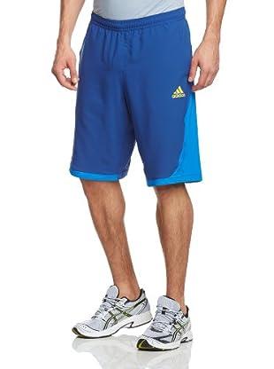 adidas Pantalón Corto Barricade (Azul Oscuro / Amarillo)