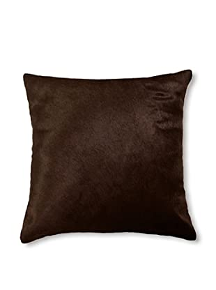 Natural Torino Cowhide Pillow (Chocolate)