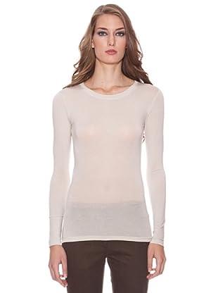 Isabel de Pedro Camiseta Cuello Caja Sin (Crudo)