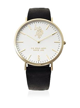 U.S. POLO ASSN. Reloj con movimiento cuarzo japonés Man Rebel YELLOW GOLD