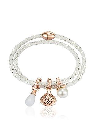 Lilly & Chloe Armband Made with Swarovski® Elements weiß